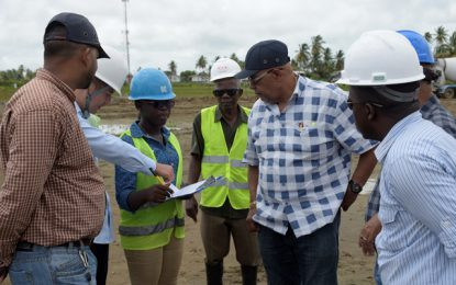 Sheet Anchor water plant to supply 15,000 residents