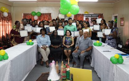 Region Three entrepreneurs encouraged to take advantage of small business opportunities    -as 32 complete Success in Business workshop