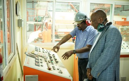 Government embraces local manufacturers   -Minister Harmon says during visit to KSM Investments Limited