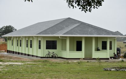 Dorms, teachers' quarters for Bina Hill Learning Centre
