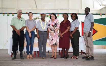 Pursue careers in STEM and other non-traditional fields  -First Lady tells students of Beterverwagting Secondary School