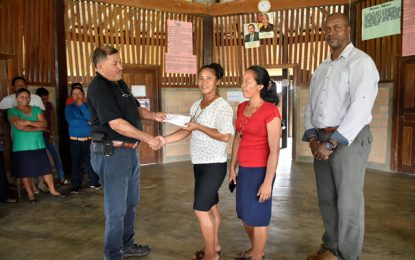 North Rupununi Villages gets $6M for community projects