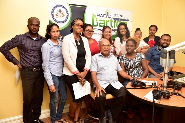 Radio Bartica goes live with local broadcasters
