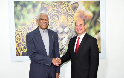 Guyana, Cuba to enhance bilateral relations  -President Granger accepts invitation to visit Cuba