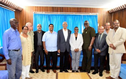 Guyana will remain unequal without greater social cohesion  -President Granger says during meeting with ERC members