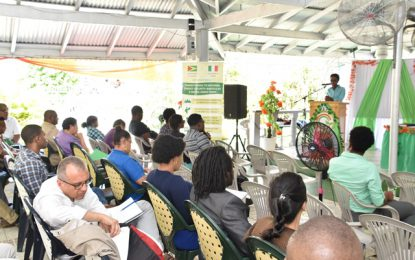 Bartica residents urged to own 'greening' of town  -as OCC takes awareness session to Region Seven
