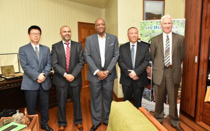 State Minister meets with Exxon partner CNOOC Nexen