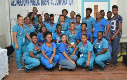 A&E nurses receive stethoscopes