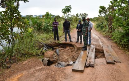 Water receding in Region Nine  -inter-agencies collaboration to monitor, respond