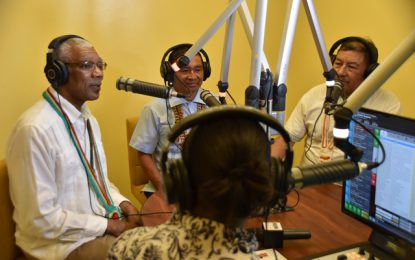Regional radio stations contributed to more democratic village elections- PM Nagamootoo