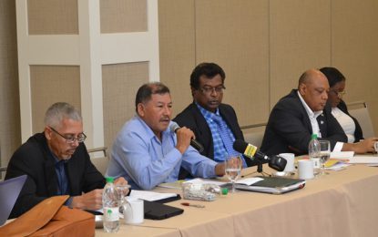"""""""The Discussion is on!""""- Ministerial team meets with mining sector"""