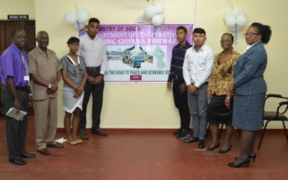 Department of Co-operatives launches Apprenticeship Programme