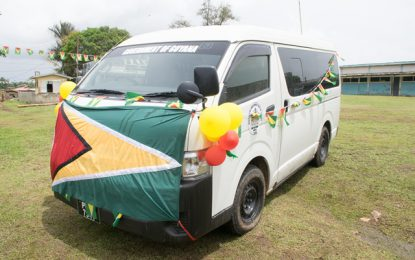 Port Kaituma Secondary students to benefit from bus
