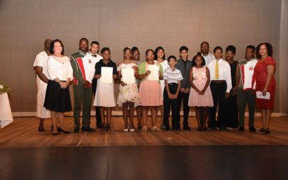 First Lady attends Musicians on Stage