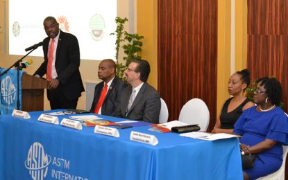 Construction codes must meet international standards – Min. Patterson