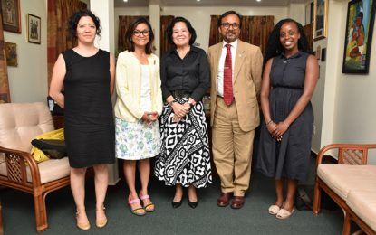 First Lady receives courtesy call from Commonwealth Foundation team
