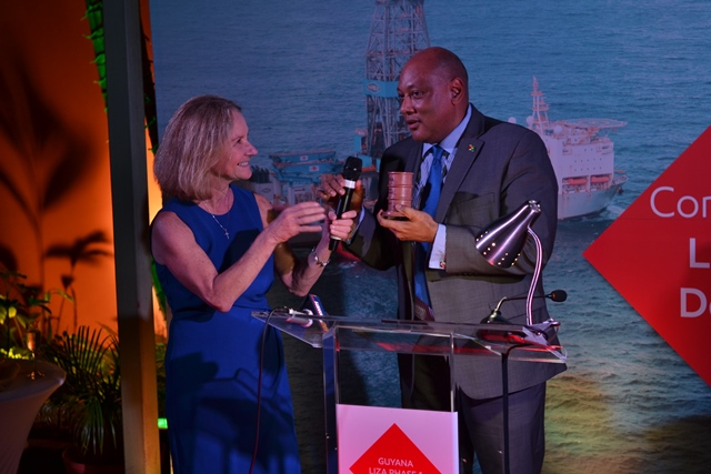 Guyana toasts to 'indelible step' towards first oil