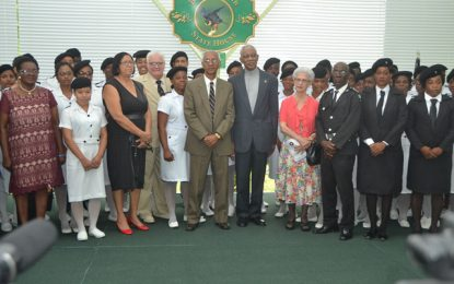 President hosts thanksgiving service in observance of St. John's Day