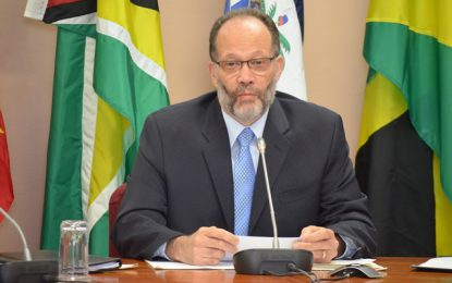 MESSAGE FROM HIS EXCELLENCY IRWIN LAROCQUE SECRETARY-GENERAL, CARIBBEAN COMMUNITY ON THE OCCASION OF THE 16 DAYS OF ACTIVISM CAMPAIGN AGAINST GENDER-BASED VIOLENCE, NOVEMBER 25TH – DECEMBER 10TH 2018