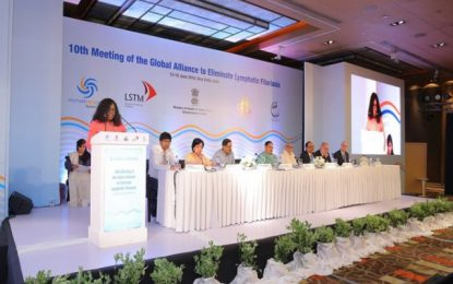 Guyana attended 10th Meeting of the GAELF in New Delhi, India