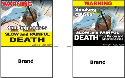 Tobacco industry to comply with packaging, labelling regulations