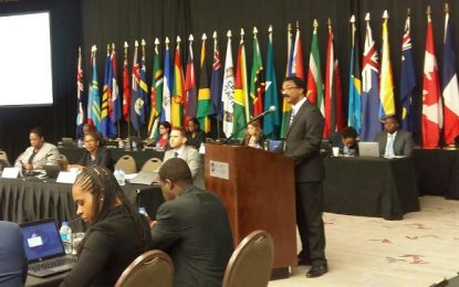 OPENING REMARKS BY THE HONORABLE BASIL WILLIAMS, SC, MP AT THE OPENING OF THE CFATF PLENARY MEETING XLVII, PORT-OF-SPAIN, TRINIDAD AND TOBAGO.