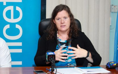 UNICEF lauds Guyana's approach to sexual offence