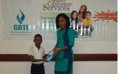 GBTI promotes early saving habits – awards Early Savers