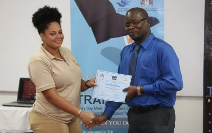 20 mines officers benefited from TIP training