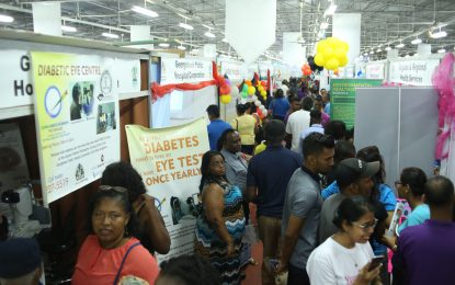 Health Expo 2018 closes to excellent reviews