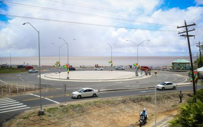 'Roundabout, answer to traffic control on crowded approaches' – Prime Minister Nagamootoo