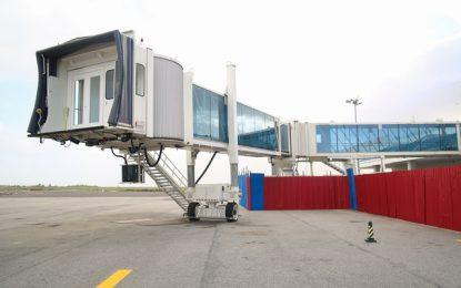 CJIA tests new air bridges