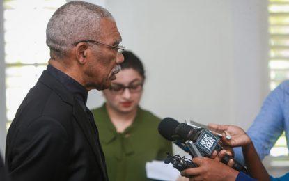 Govt not involved in GECOM's hiring -President Granger