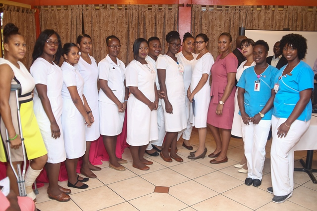 Nurses trained in critical care
