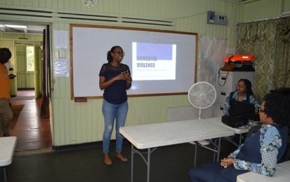 MARAD hosts domestic violence awareness forum for employees