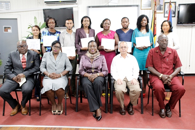 Eight graduate to work with special needs children