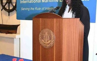 Guyanese graduates as valedictorian at IMO Int'l Maritime Law Institute