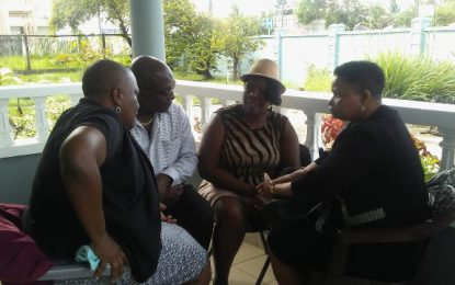 Min. Lawrence visits family of brothers killed in accident