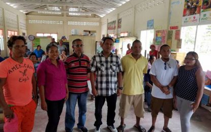 Santa Aratak welcomes new Toshao and councillors