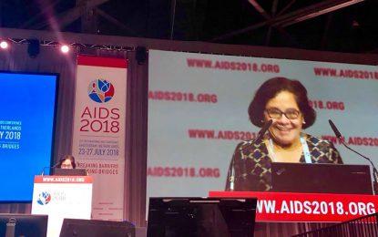 'We cannot afford to be complacent when it comes to fighting HIV/AIDS' -First Lady at 22nd International AIDS Conference