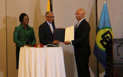 First graduate from Caribbean legal education system becomes President of CCJ