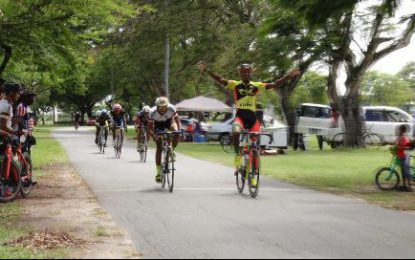 Jamal John takes 18th Annual P&P Insurance Brokers cycling meet title