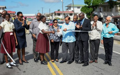 $ 9.7Billion WCD Road Improvement Project Commissioned!