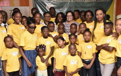 'The Government cares' – Minister Lawrence at Bereavement Camp opening ceremony