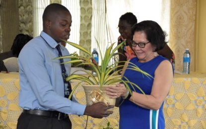 Graduates of First Lady's Self-Reliance Workshop launch greenhouse project at Sophia