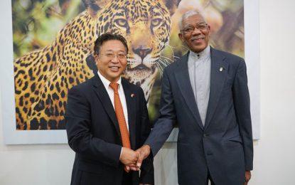 Chinese Ambassador calls on President
