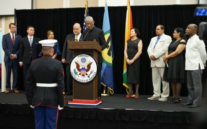 Guyana attaches great importance to its relations with the United States
