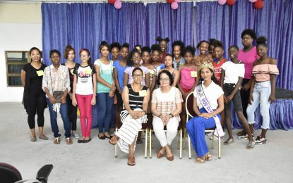 "First Lady says ""Our contribution matters"" – at opening of Girls' Empowerment workshop"
