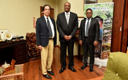 Minister Harmon meets with World Bank representatives