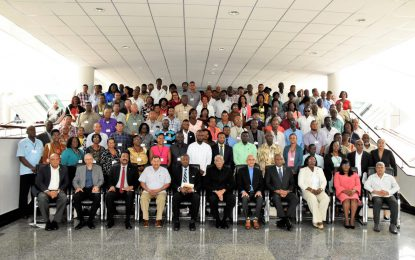 Government committed to 'bottom-up' approach to governance– President Granger tells local leaders at NCDLO